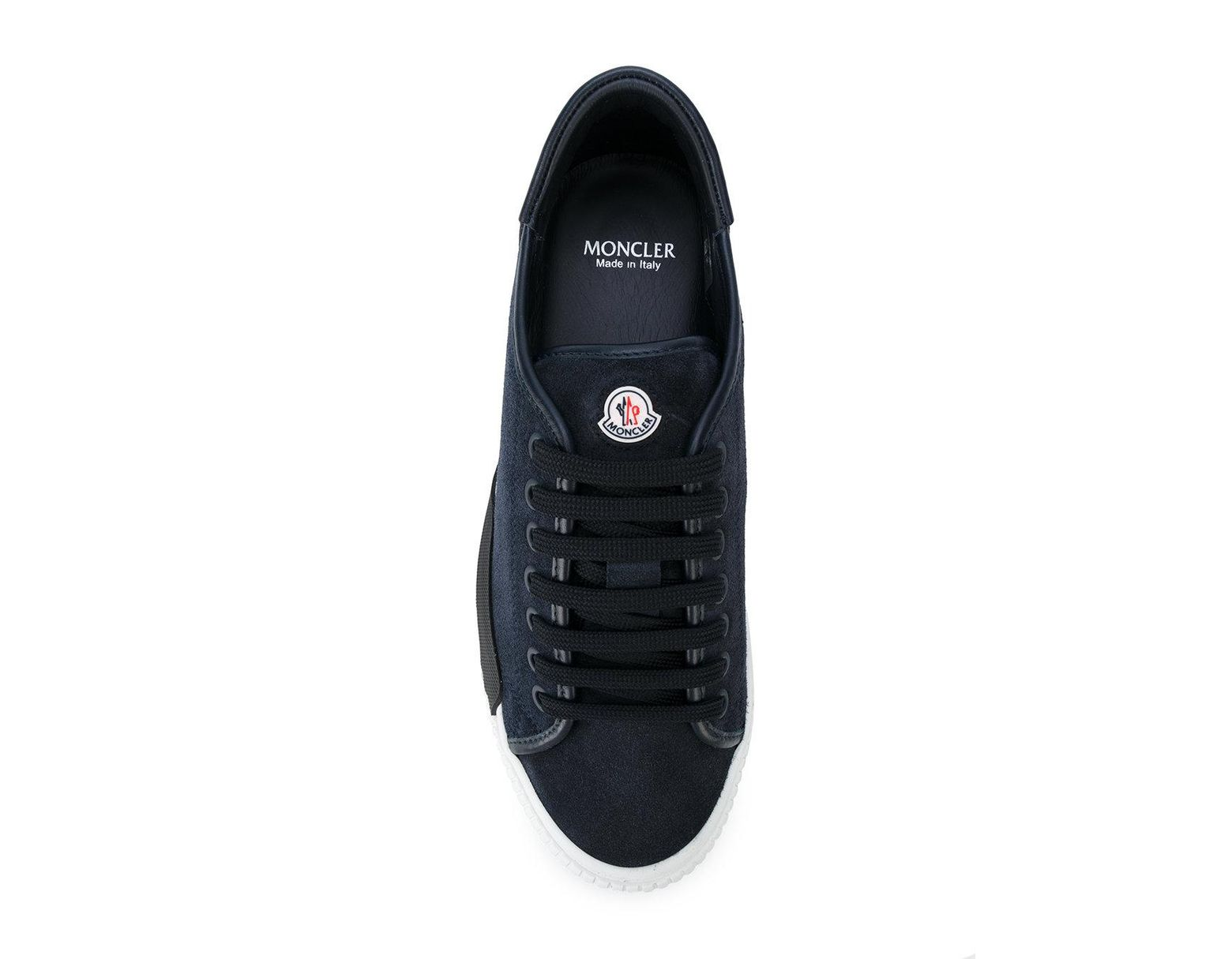 b44b8f45c8116 Moncler Lace-up Platform Sneakers in Blue for Men - Lyst
