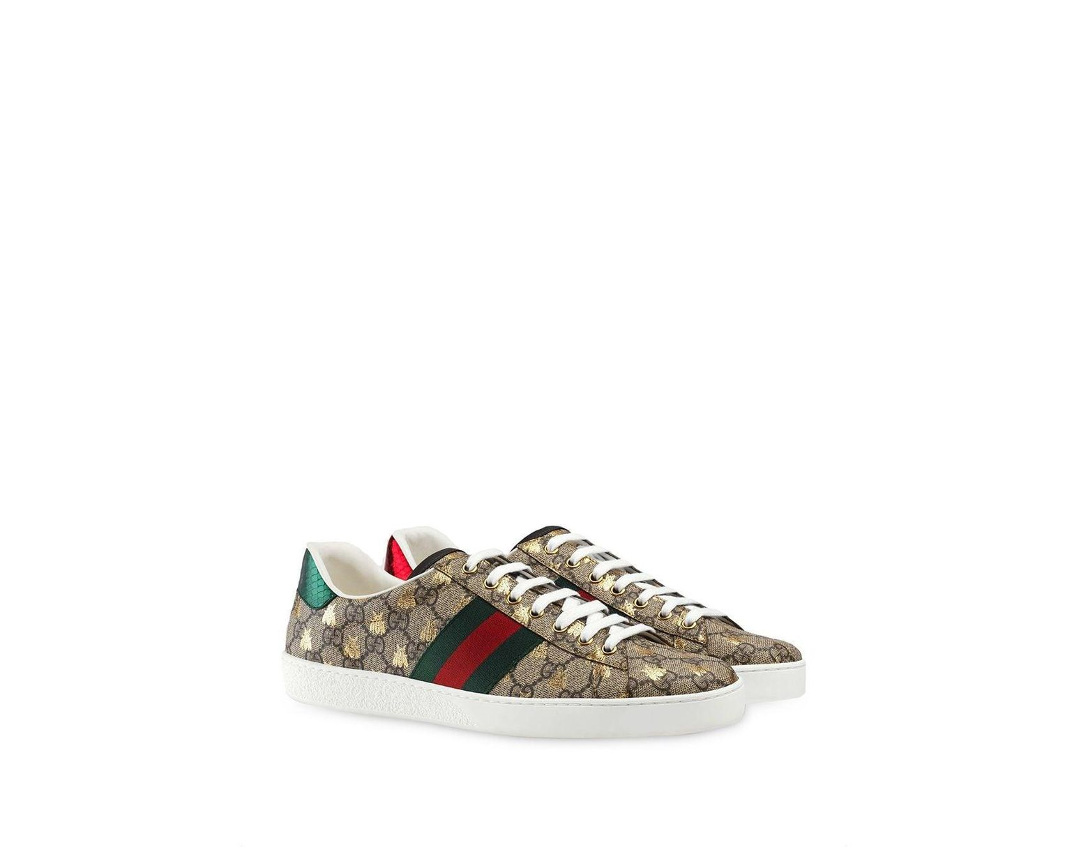 146de8b5b Gucci Ace GG Supreme Bees Sneakers for Men - Save 31% - Lyst