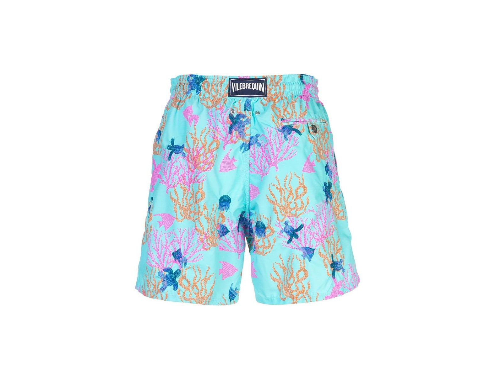 d4234f4c07 Vilebrequin Printed Swim Shorts in Blue for Men - Lyst