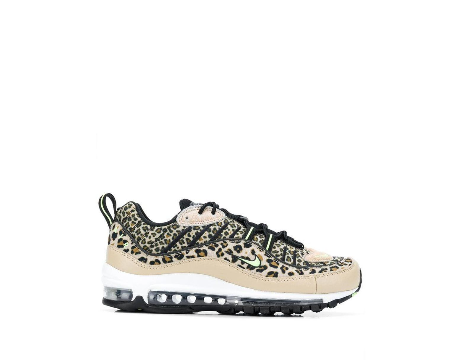 new arrival b60a1 38d2d Nike Air Max 98 Leopard Print Sneakers in Brown - Save 44% - Lyst