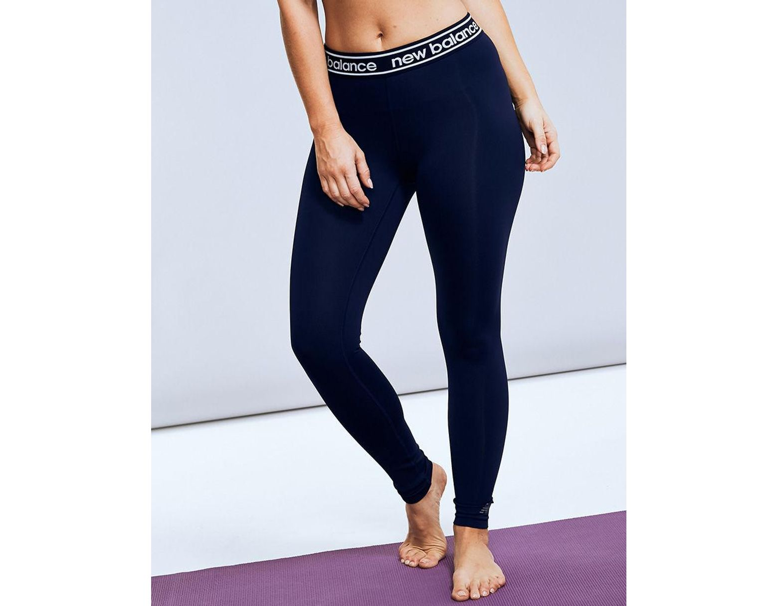 0c28880c9c479 New Balance Accelerate Tight in Blue - Lyst