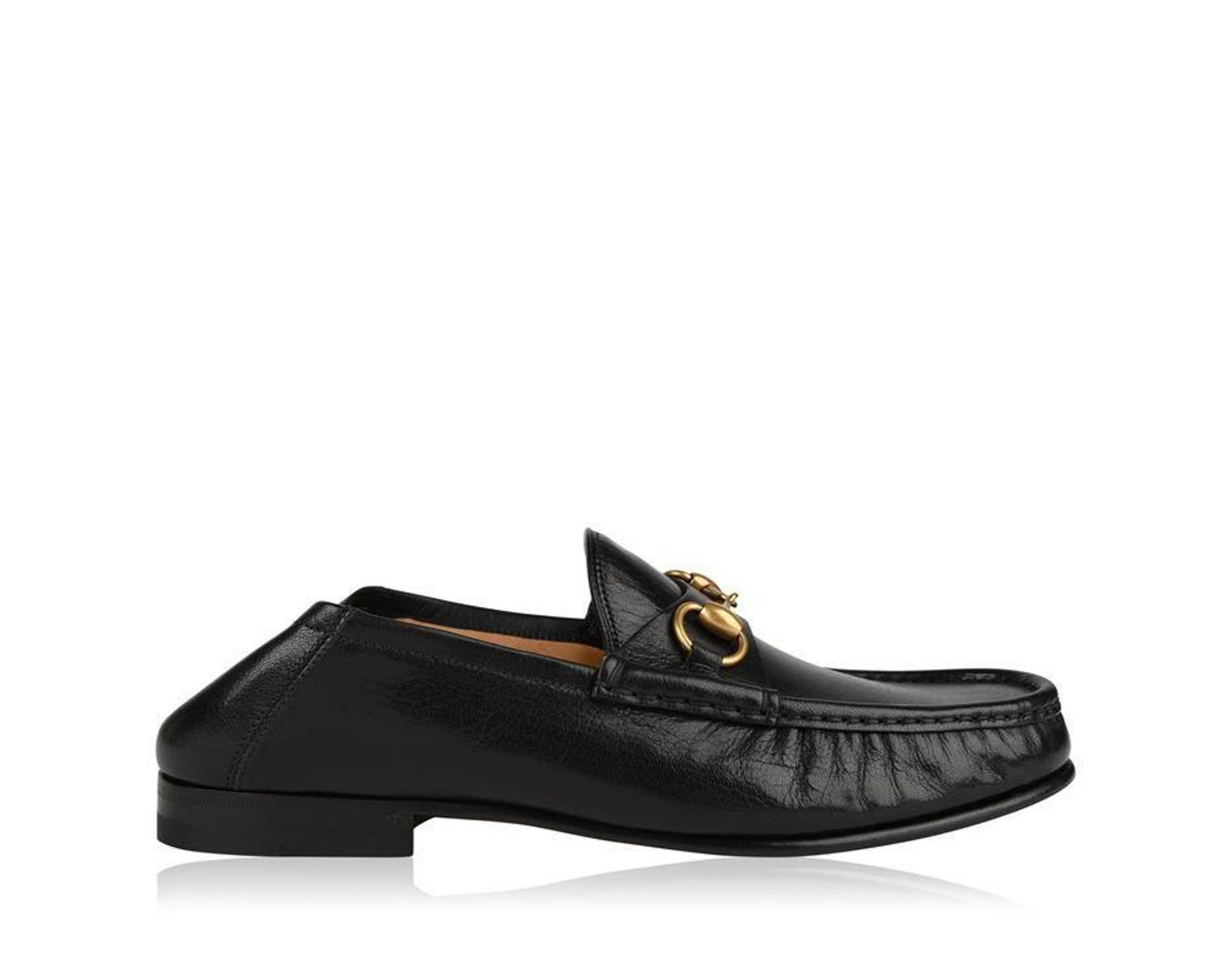 be52e77ae Gucci Easy Roos Loafers in Black for Men - Save 18% - Lyst
