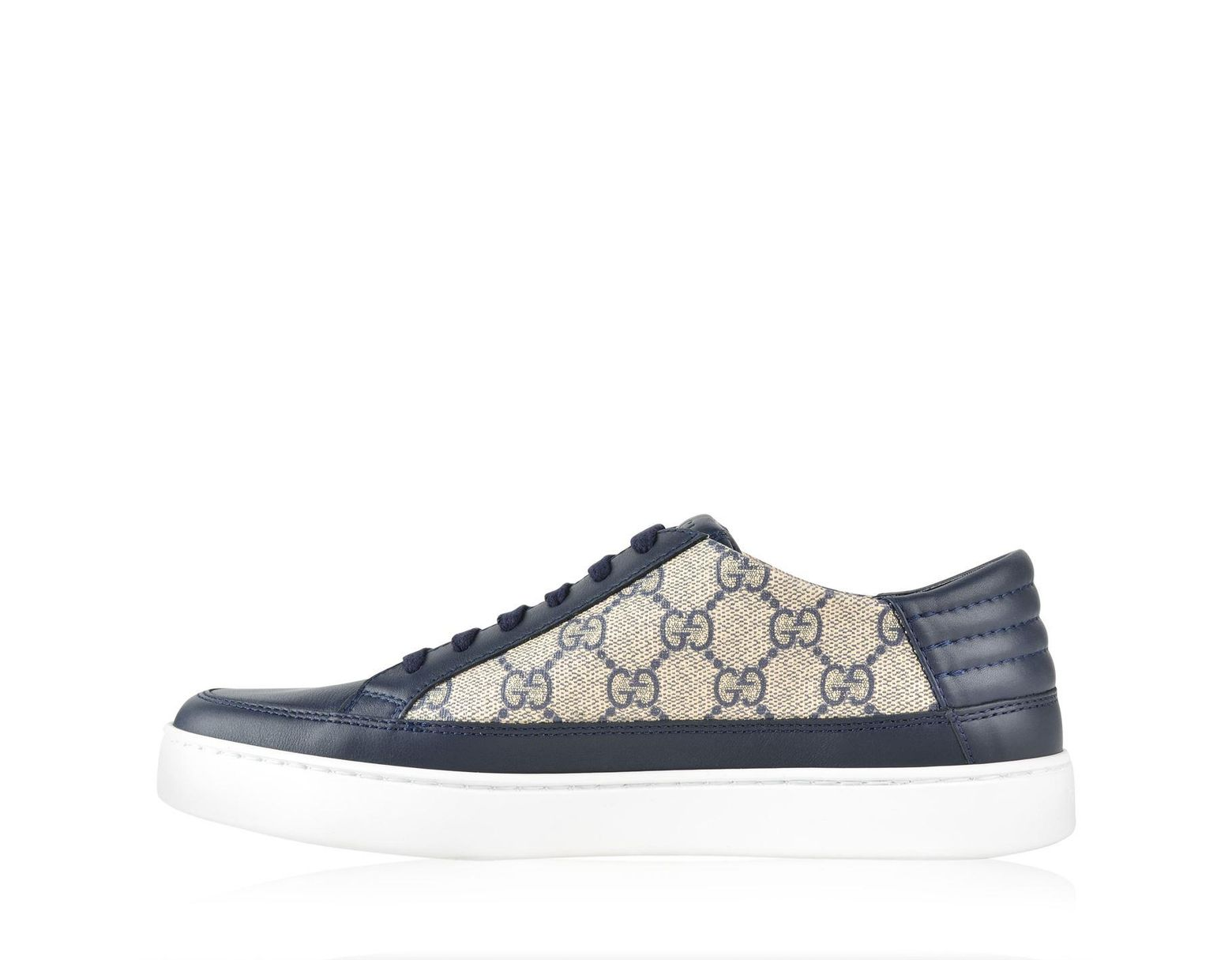 b856544c53a Lyst - Gucci GG Supreme Sneaker in Blue for Men - Save 15%
