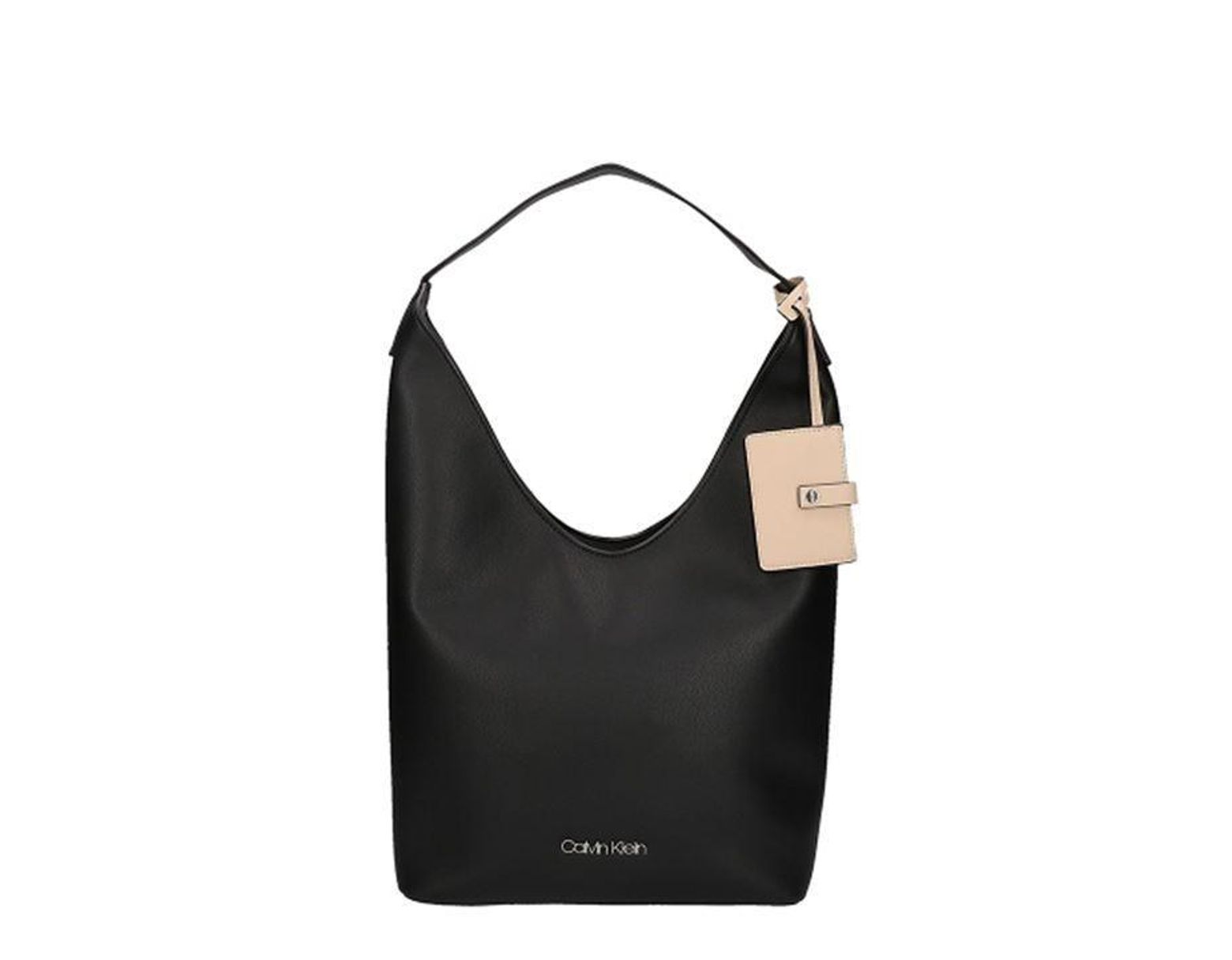 faa14a5353 Calvin Klein Ck Tack S Hobo Ld92 in Black - Lyst