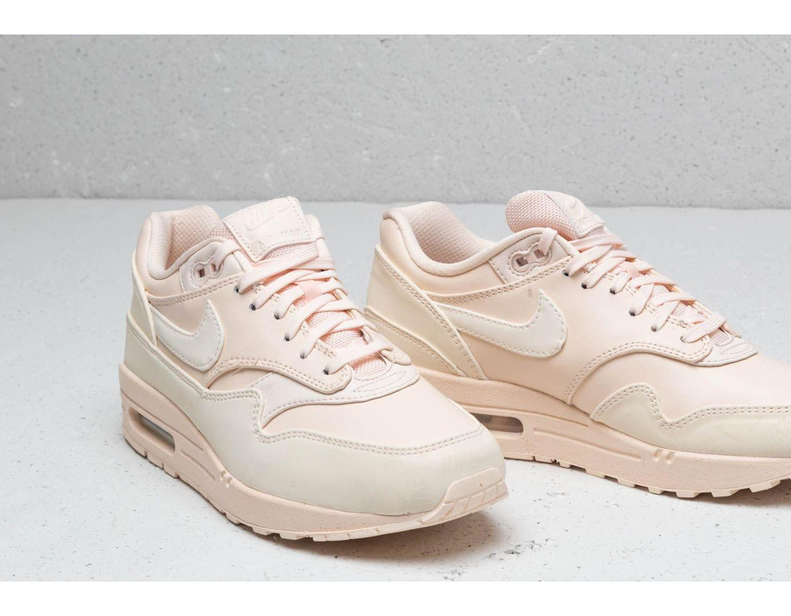 top fashion c6b72 1f2fc Nike Wmns Air Max 1 Lx Guava Ice  Guava Ice-guava Ice - Lyst