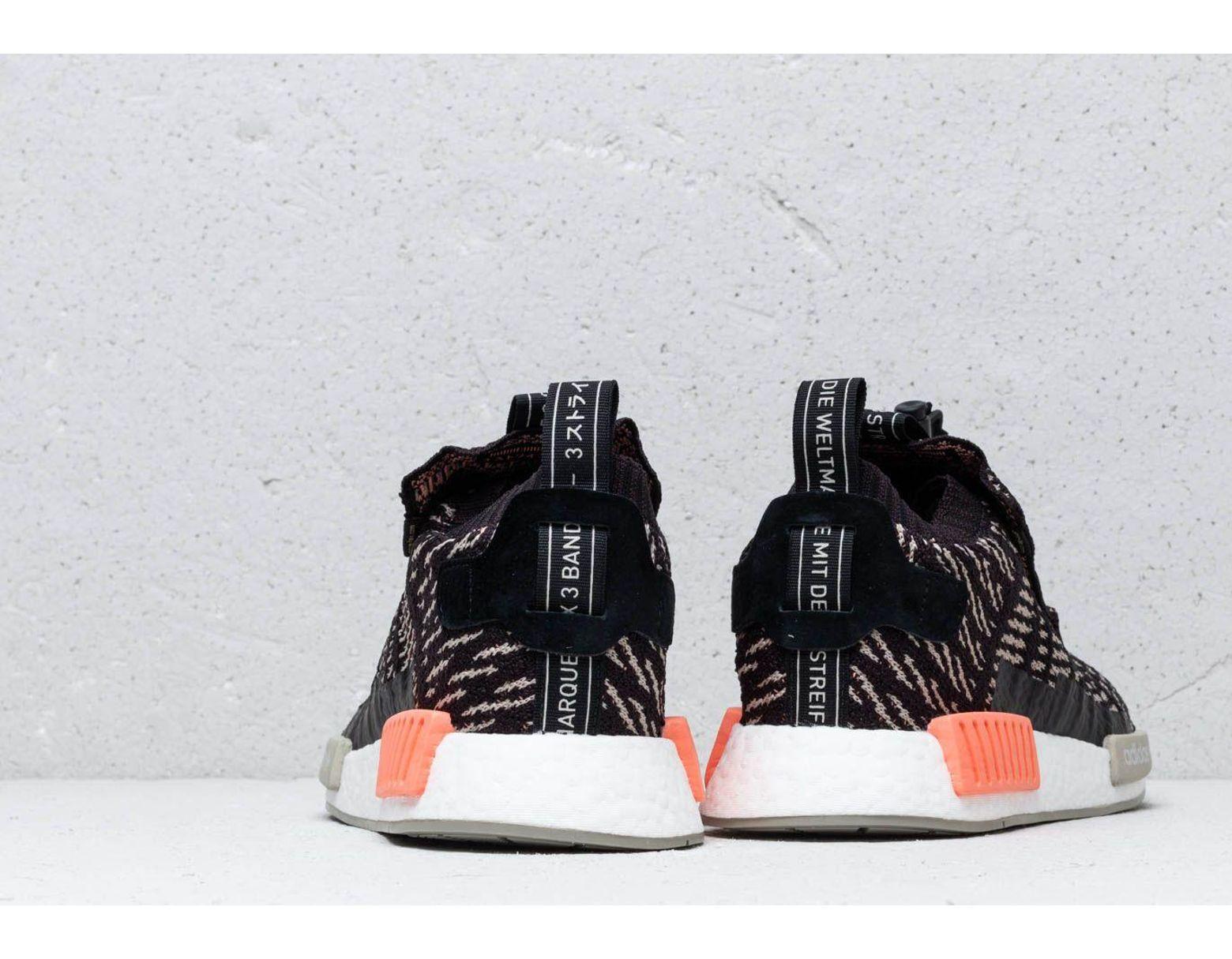c4d4c182102f0 Lyst - adidas Originals Adidas Nmd Ts1 Pk Gtx Core Black  Sesame  Chalk  Coral in Black for Men