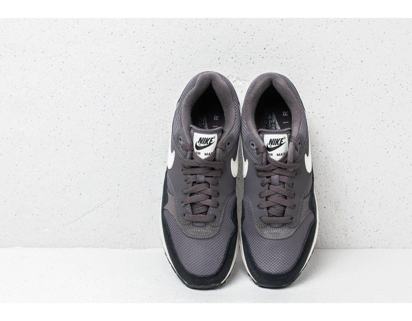 half off 1429e c089c Nike Air Max 1 Thunder Grey  Sail-sail-black in Gray for Men - Lyst