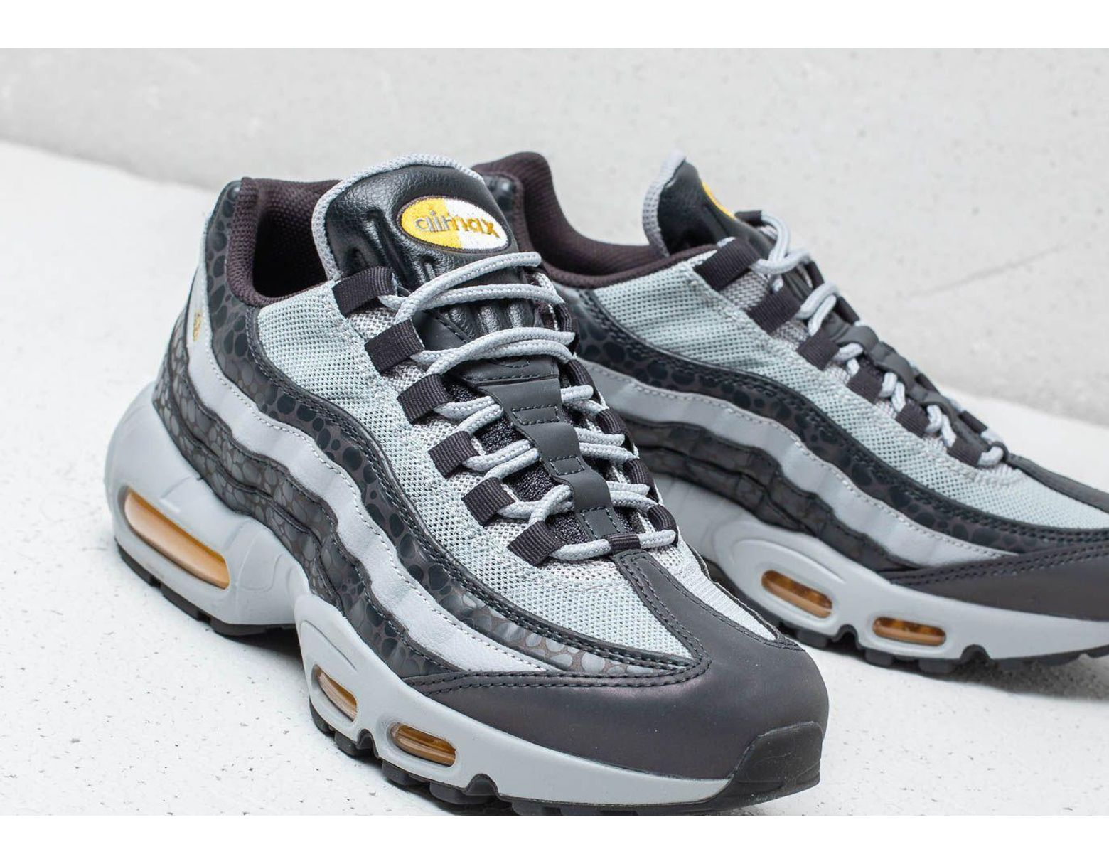 e62e6d43f0 Nike Air Max 95 Se Reflective Off Noir/ Amarillo-wolf Grey in Gray for Men  - Lyst