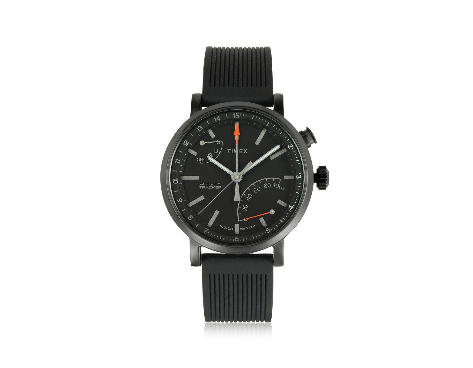 048a037a002c Metropolitan Reloj para Hombre Negro con Correa Intercambiable Timex de  hombre de color Negro - Lyst
