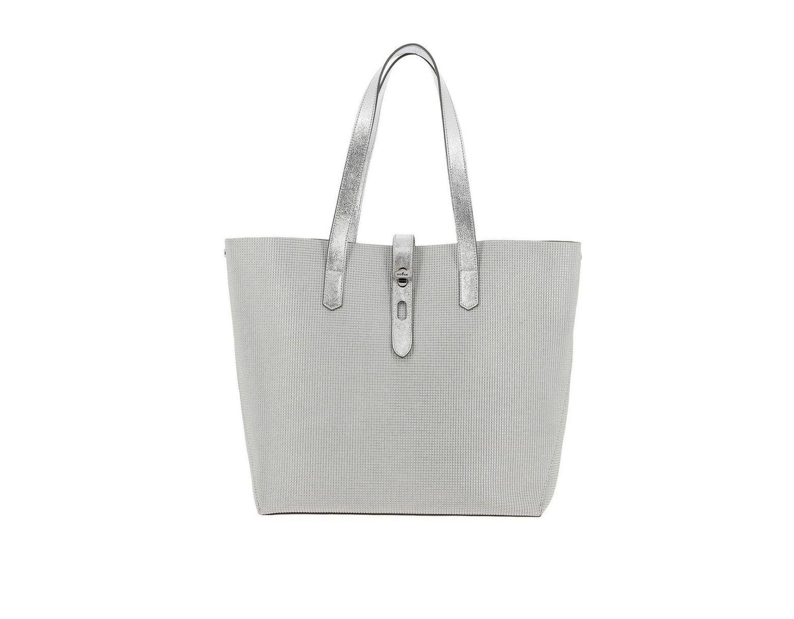 8409c4894ce Hogan Mini Bag Women in Metallic - Lyst