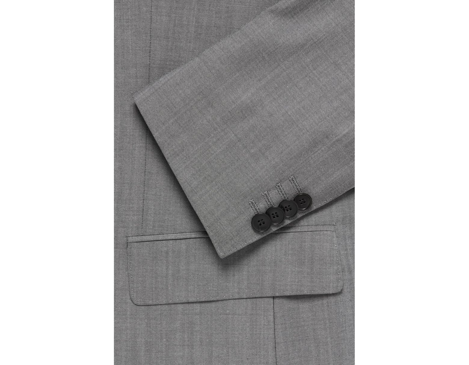 a8f98a901040 BOSS Italian Super 110 Virgin Wool Suit, Slim Fit | Huge/genius in Gray for  Men - Save 40% - Lyst