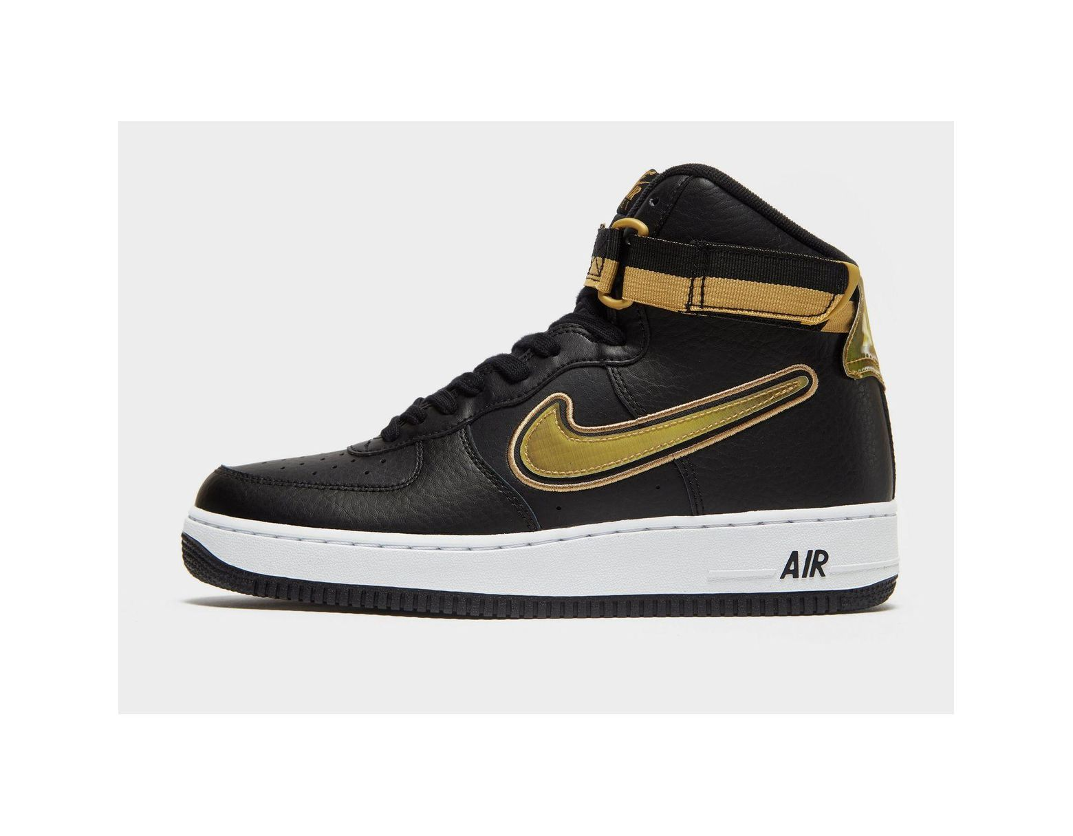 c880f6cce5 Nike Air Force 1 Nba High (new York Knicks) Men's Shoe in Black for ...