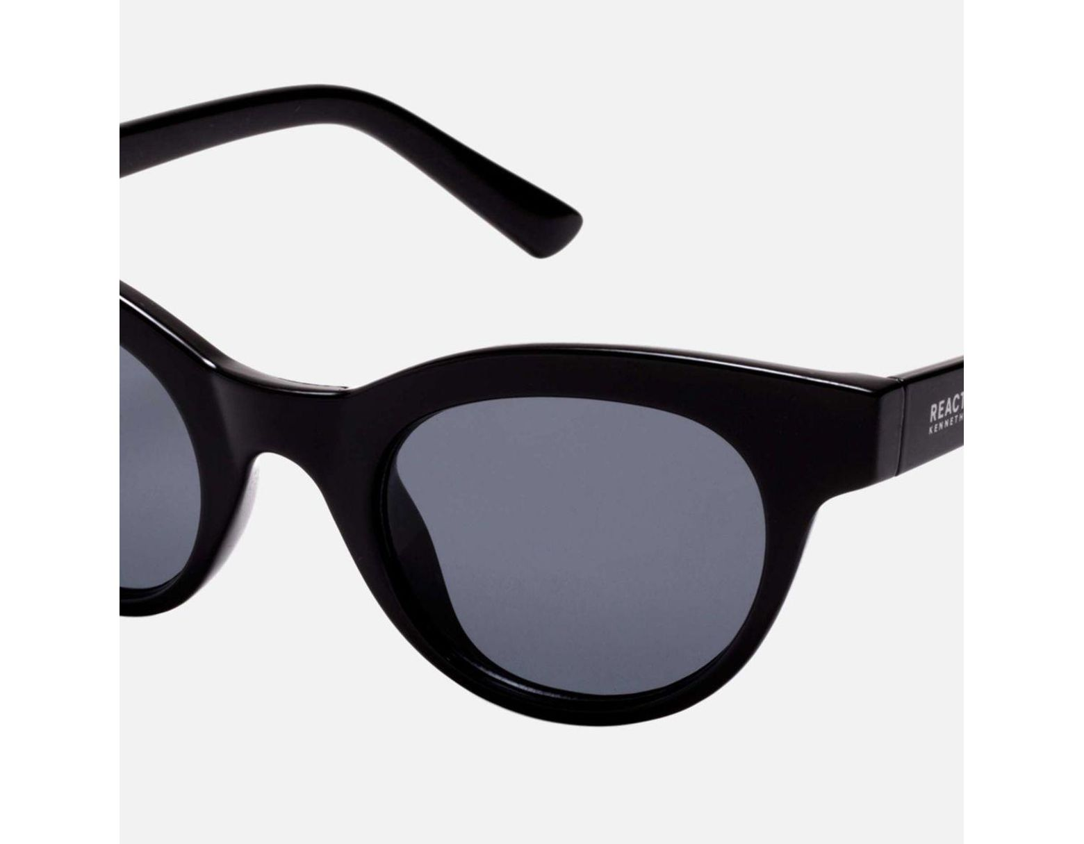 c7bec78b3a97 Lyst - Kenneth Cole Women's Small Cat Eye Sunglasses in Black