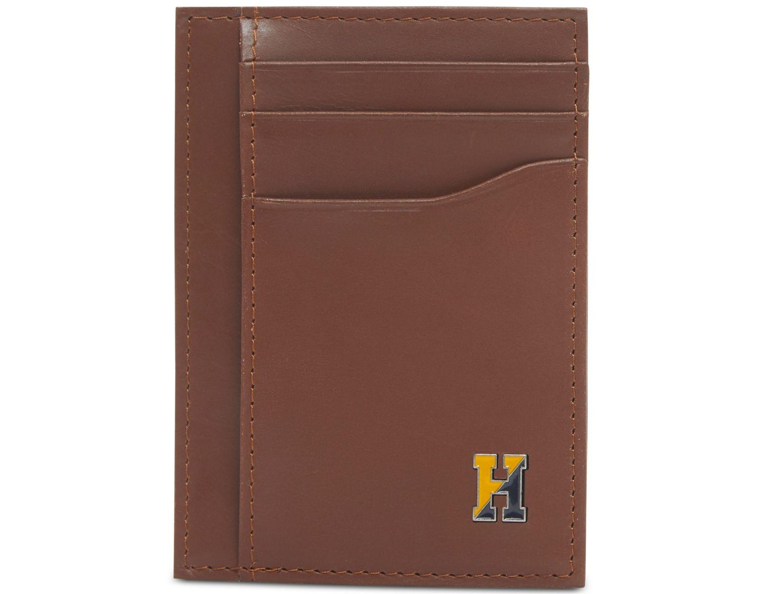 0732920092 Tommy Hilfiger Barnaby Front-pocket Rfid Leather Wallet for Men - Lyst