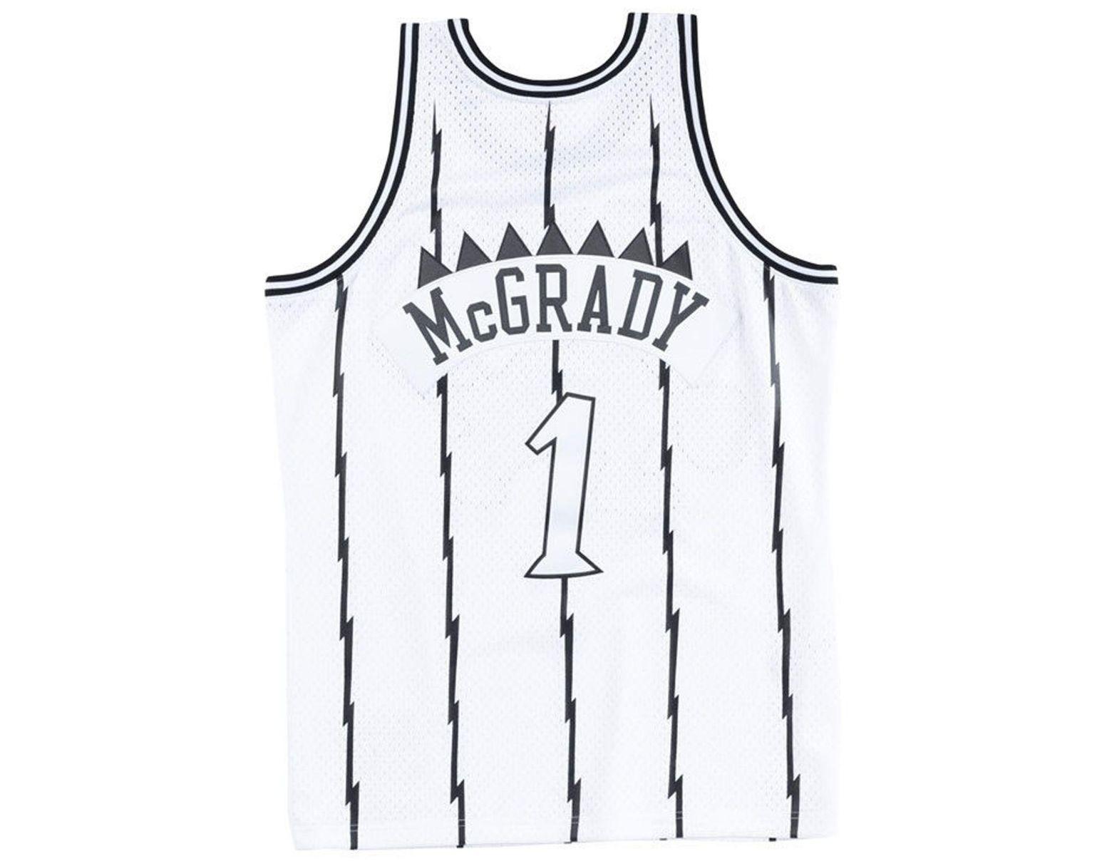 87e8334568f Mitchell   Ness Tracy Mcgrady Toronto Raptors Concord Collection Swingman  Jersey in White for Men - Lyst