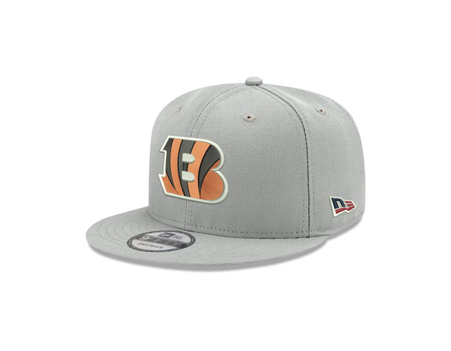 wholesale dealer 66a45 63b29 Lyst - KTZ Cincinnati Bengals Crafted In The Usa 9fifty Snapback Cap in  Gray for Men