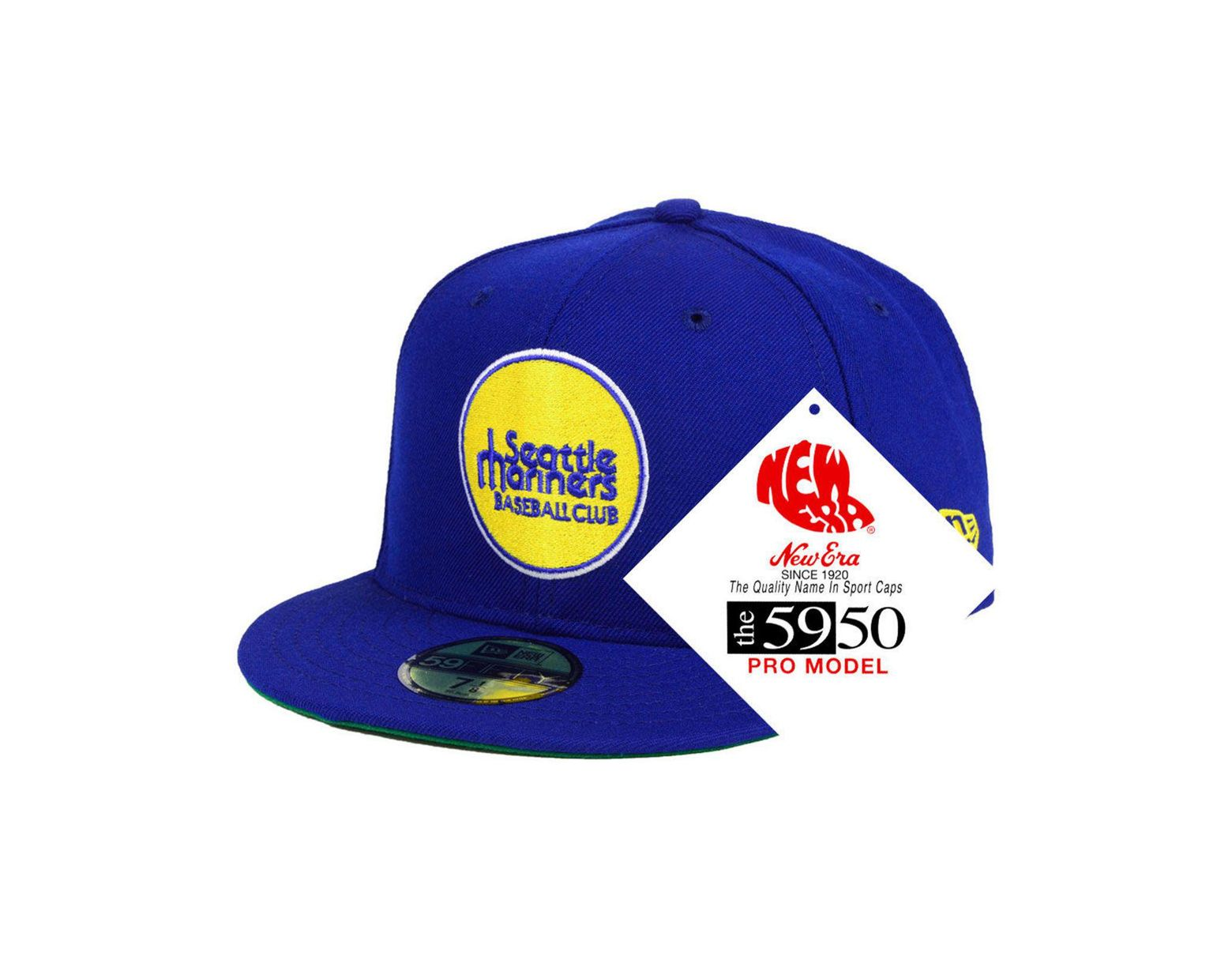 017e8531 KTZ Seattle Mariners Retro Stock 59fifty Fitted Cap in Blue for Men - Lyst