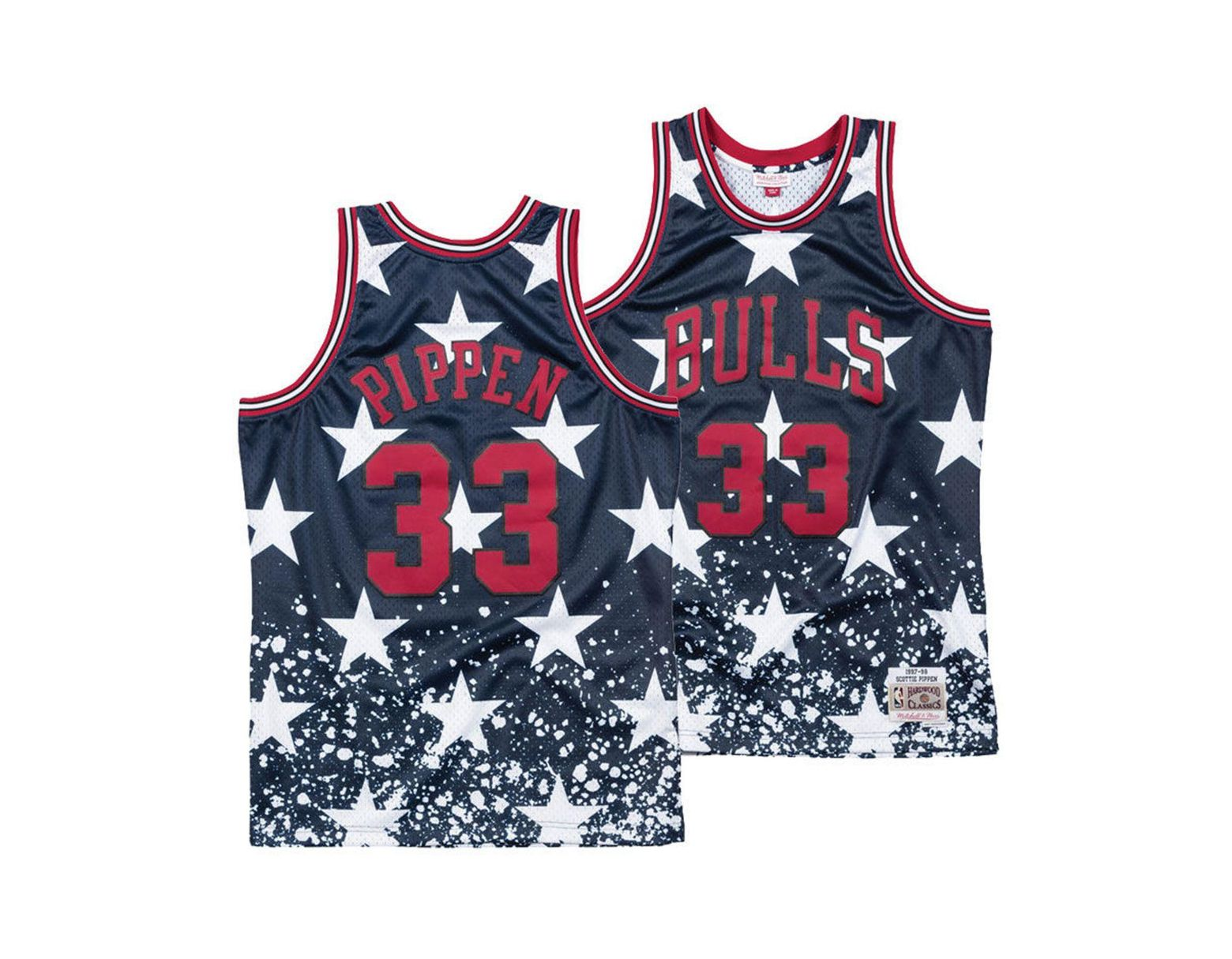 new style a53f2 146ee Mitchell & Ness Scottie Pippen Chicago Bulls The 4th ...