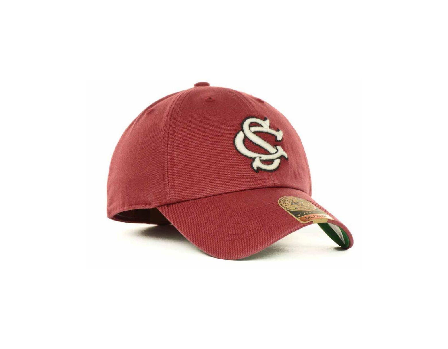 sneakers for cheap e9b31 675dd 47 Brand South Carolina Gamecocks Franchise Cap in Red for Men - Lyst