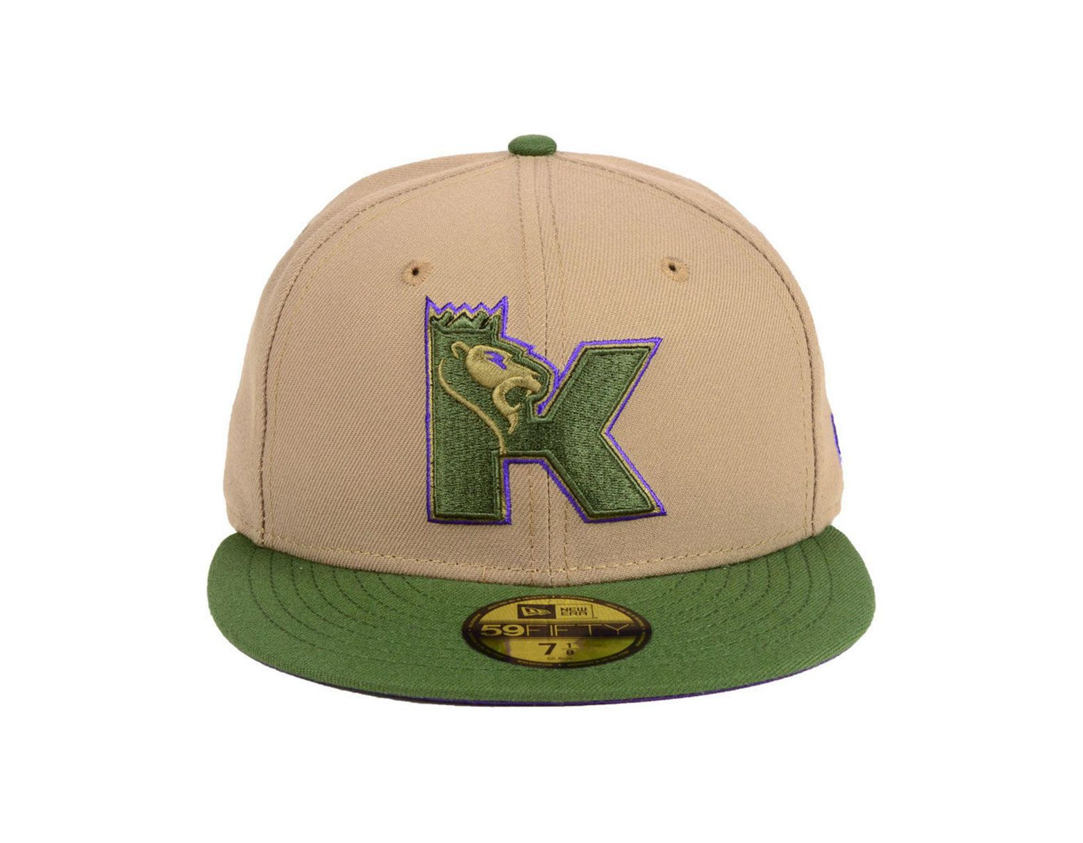 on sale d6fc5 f6fdd KTZ Sacramento Kings Fall 2 Tone Combo 59fifty-fitted Cap in Green for Men  - Lyst