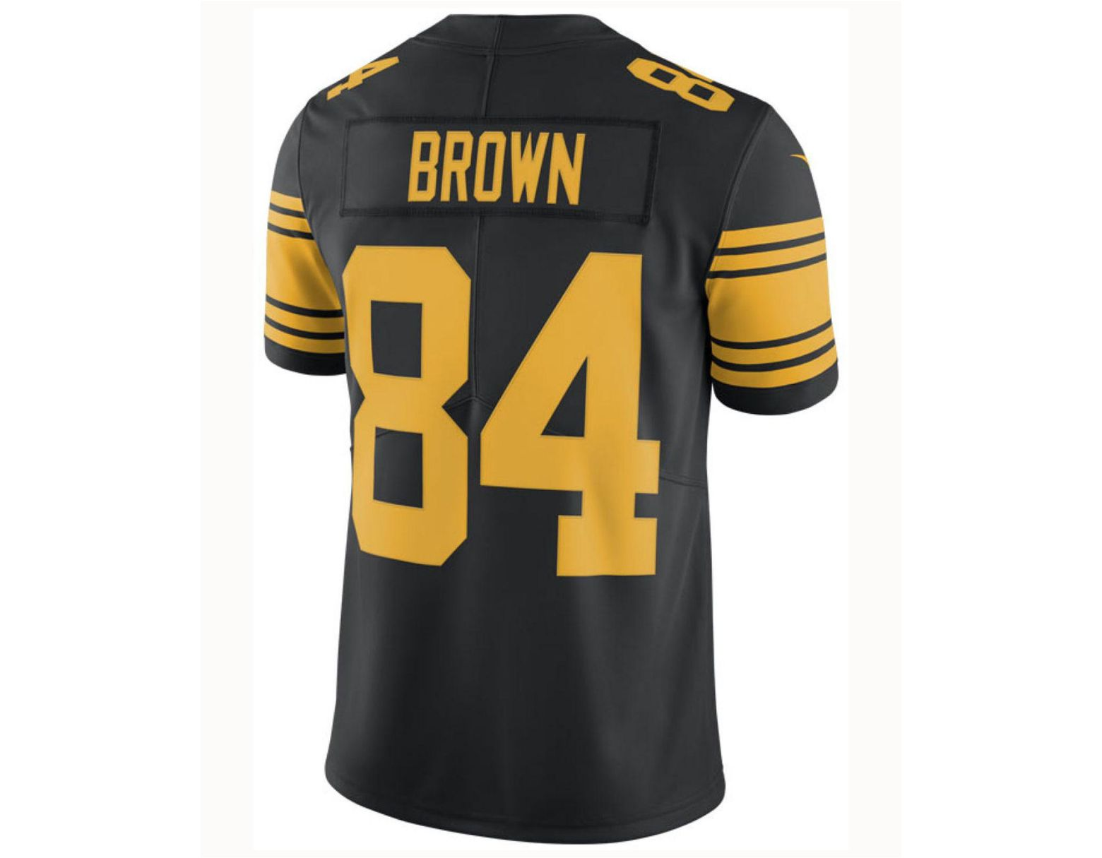 c5d2f58f2 Nike Antonio Brown Pittsburgh Steelers Limited Color Rush Jersey in Black  for Men - Lyst