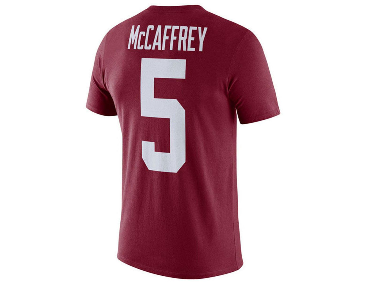 e5bde618 Lyst - Nike Christian Mccaffrey Stanford Cardinal Name And Number T-shirt  in Red for Men