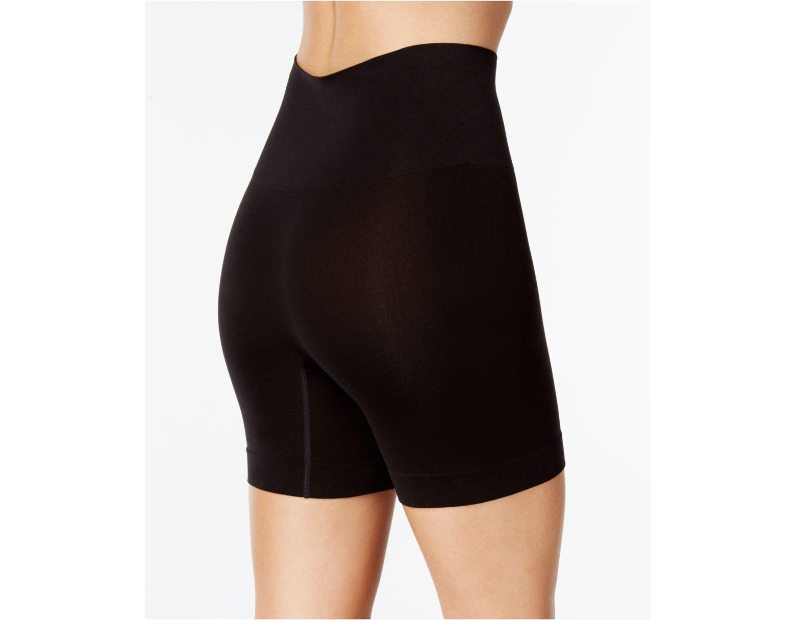 935d34d6d523 Spanx Firm-control Smoothing Shaping Shorts 10149r in Black - Lyst