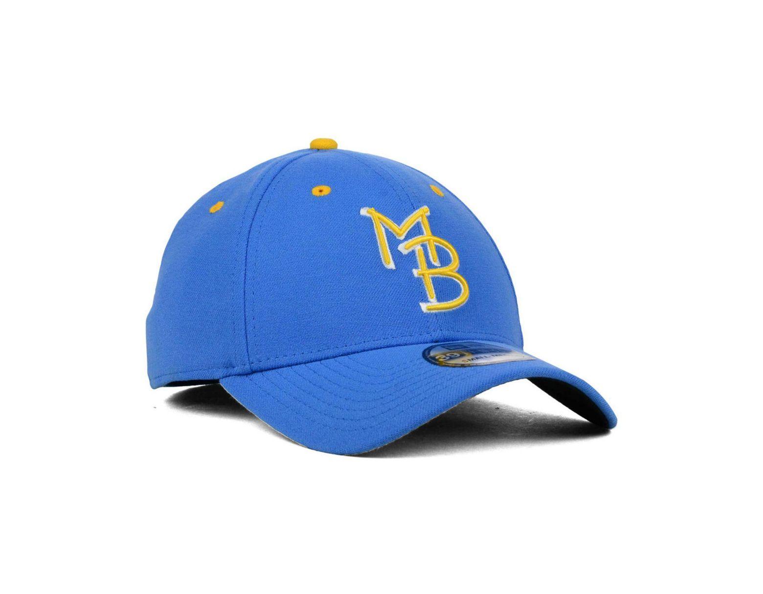 77feeb43b92e4 KTZ Myrtle Beach Pelicans 39thirty Cap in Blue for Men - Save 6% - Lyst