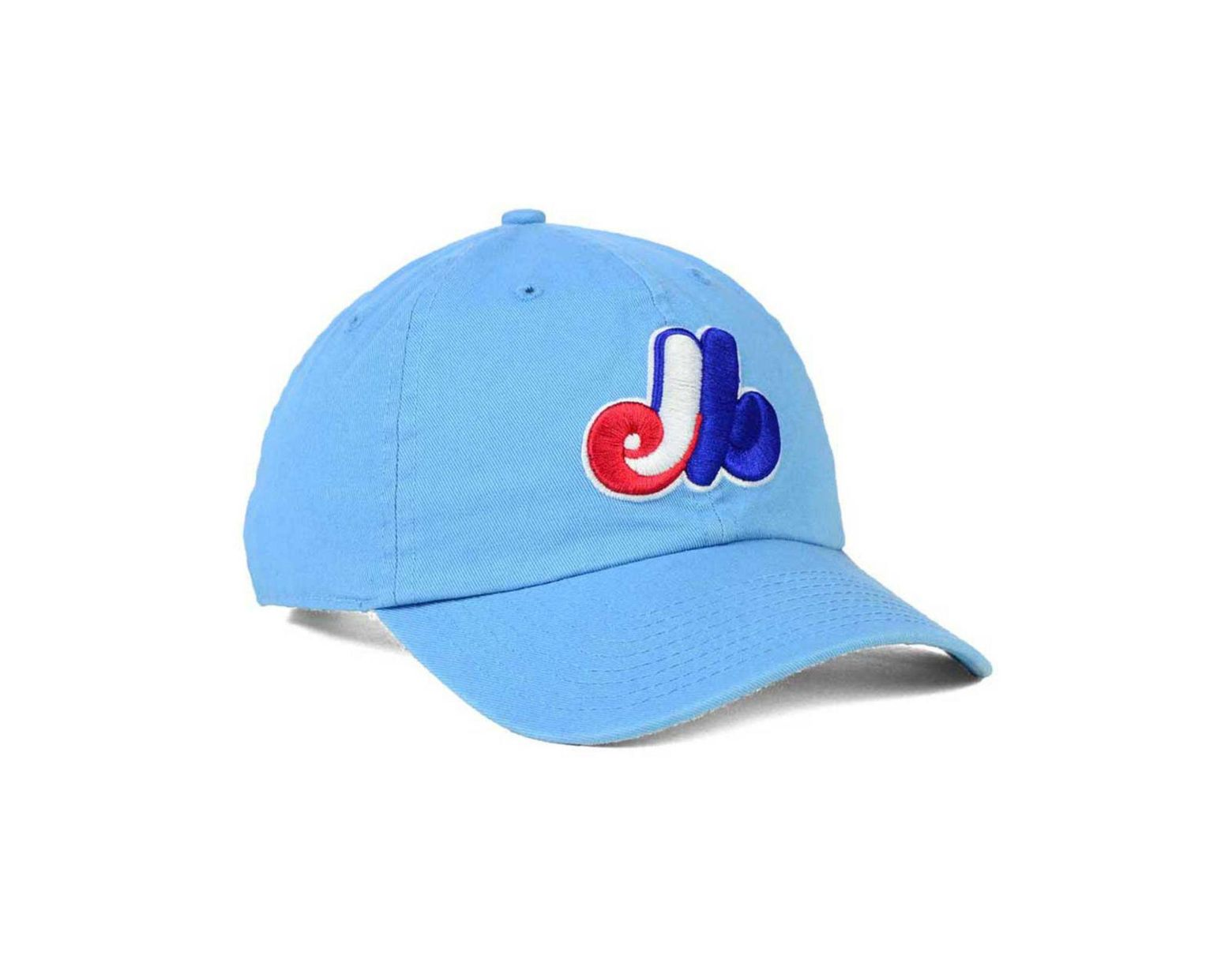 buy online b11db 231fe 47 Brand Montreal Expos Core Clean Up Cap in Blue for Men - Lyst