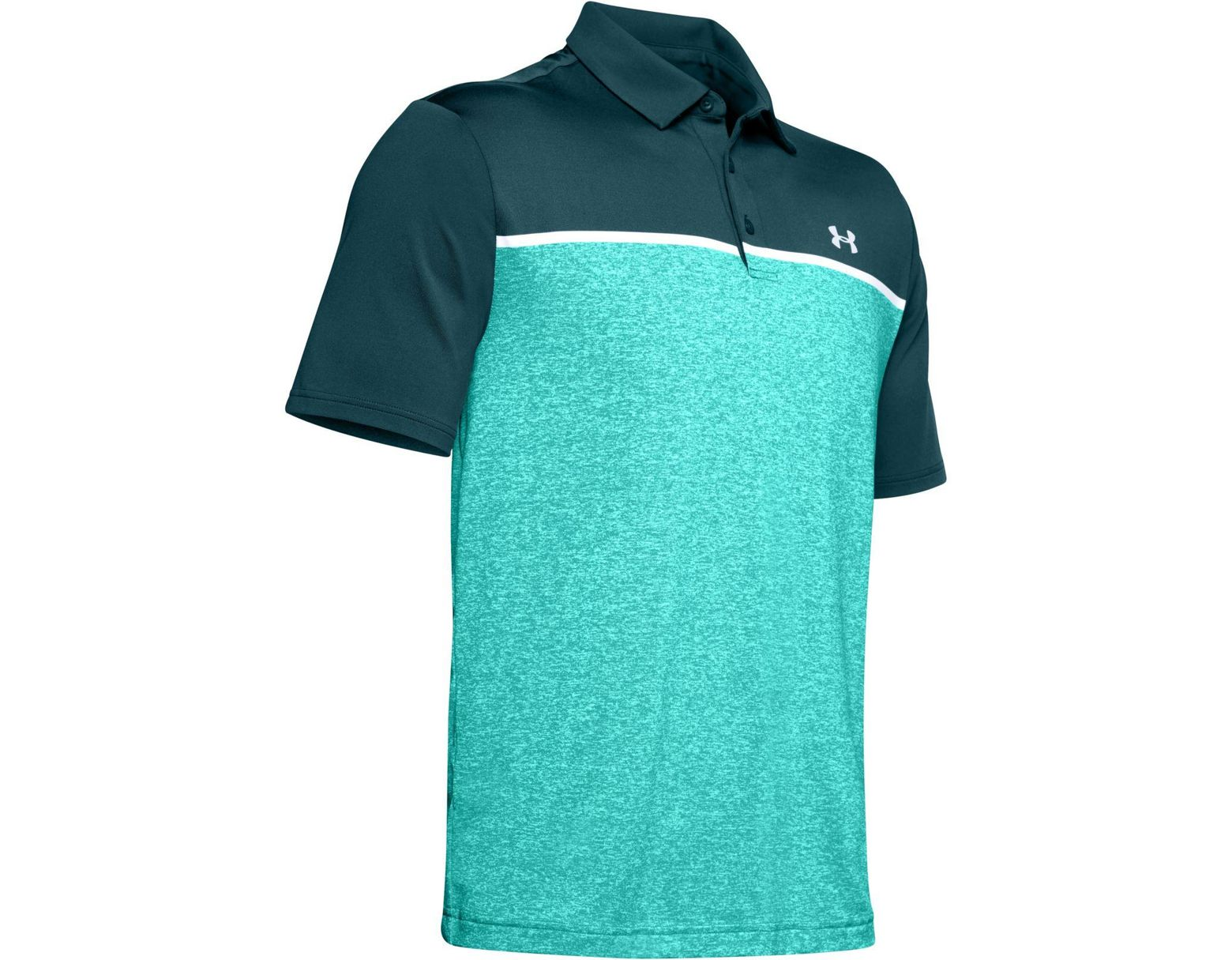 377571d3 Under Armour Colorblocked Playoff Polo in Blue for Men - Lyst