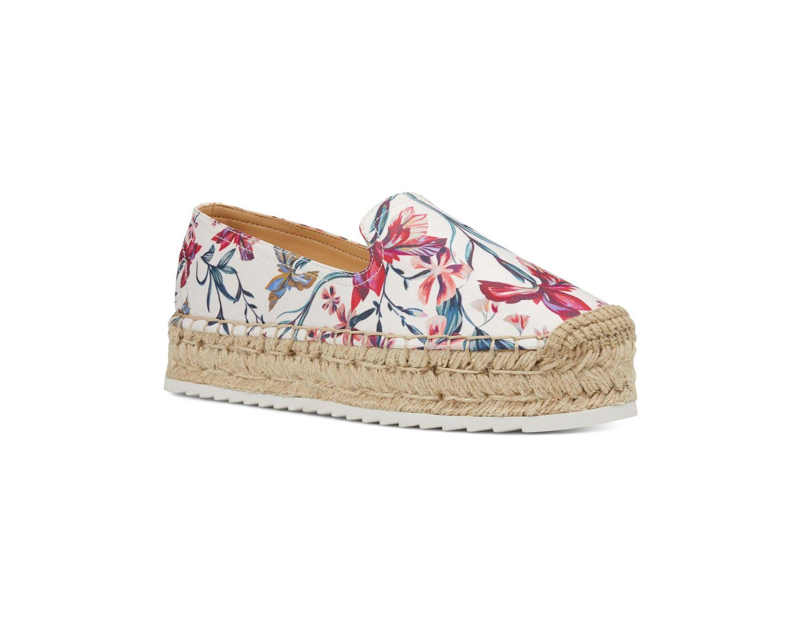 278ee8bfc Nine West Lucy Slip-on Espadrilles in White - Save 1% - Lyst