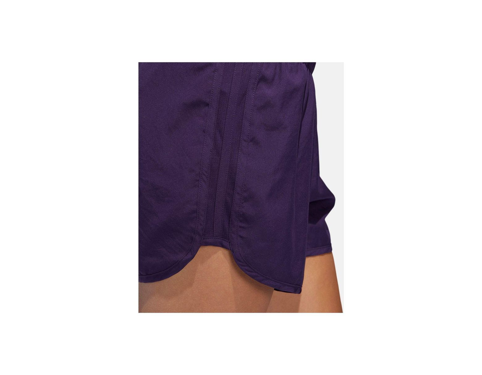 adidas M20 Climacool® Reflective Running Shorts in Purple Lyst
