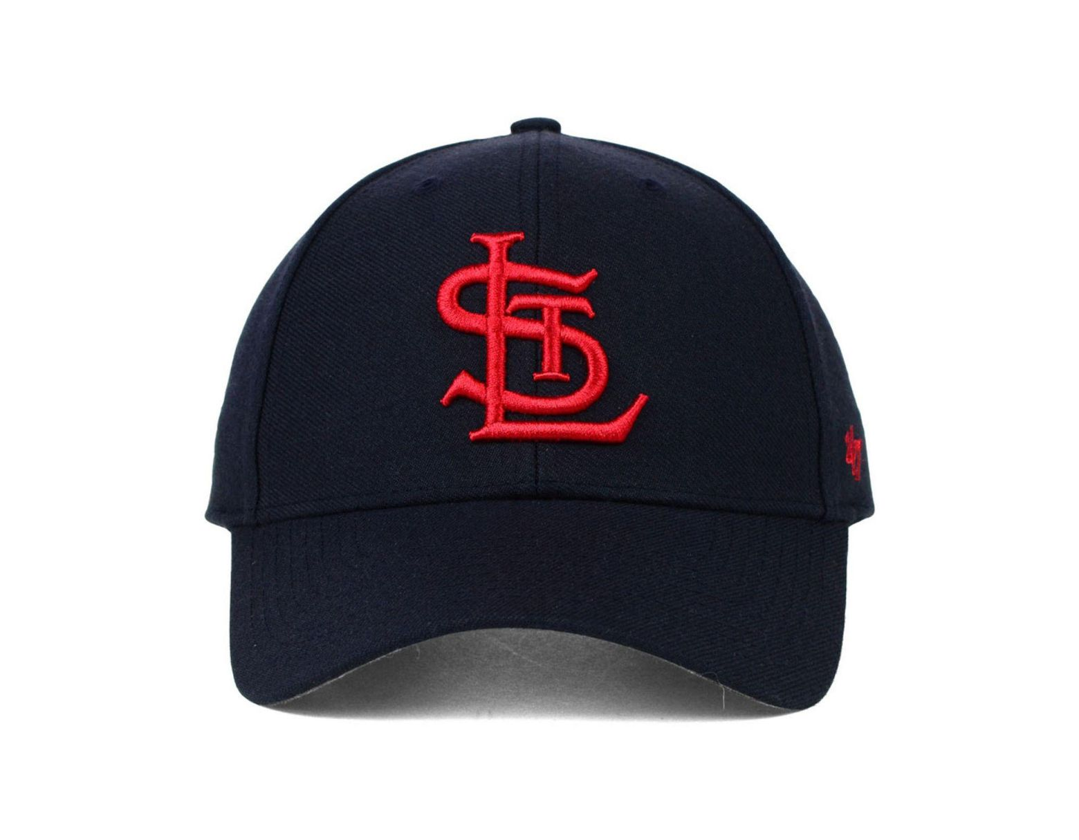 best website 379ce 91bf7 47 Brand St. Louis Cardinals Mvp Curved Cap in Blue for Men - Lyst