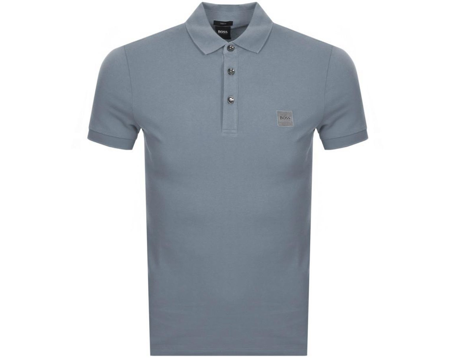 6dfe75d62 BOSS by Hugo Boss Passenger Polo T Shirt Grey in Gray for Men - Lyst