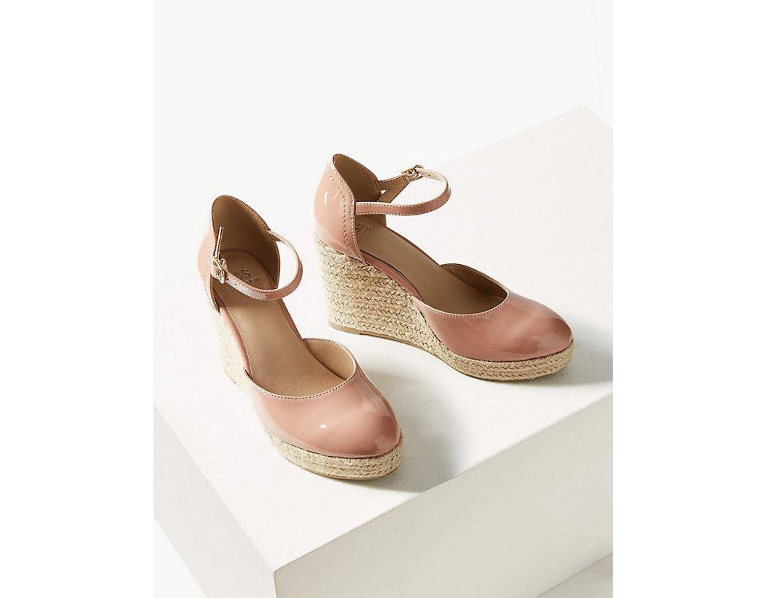 98859f629e7 Women's Natural Wedge Heel Almond Toe Espadrilles