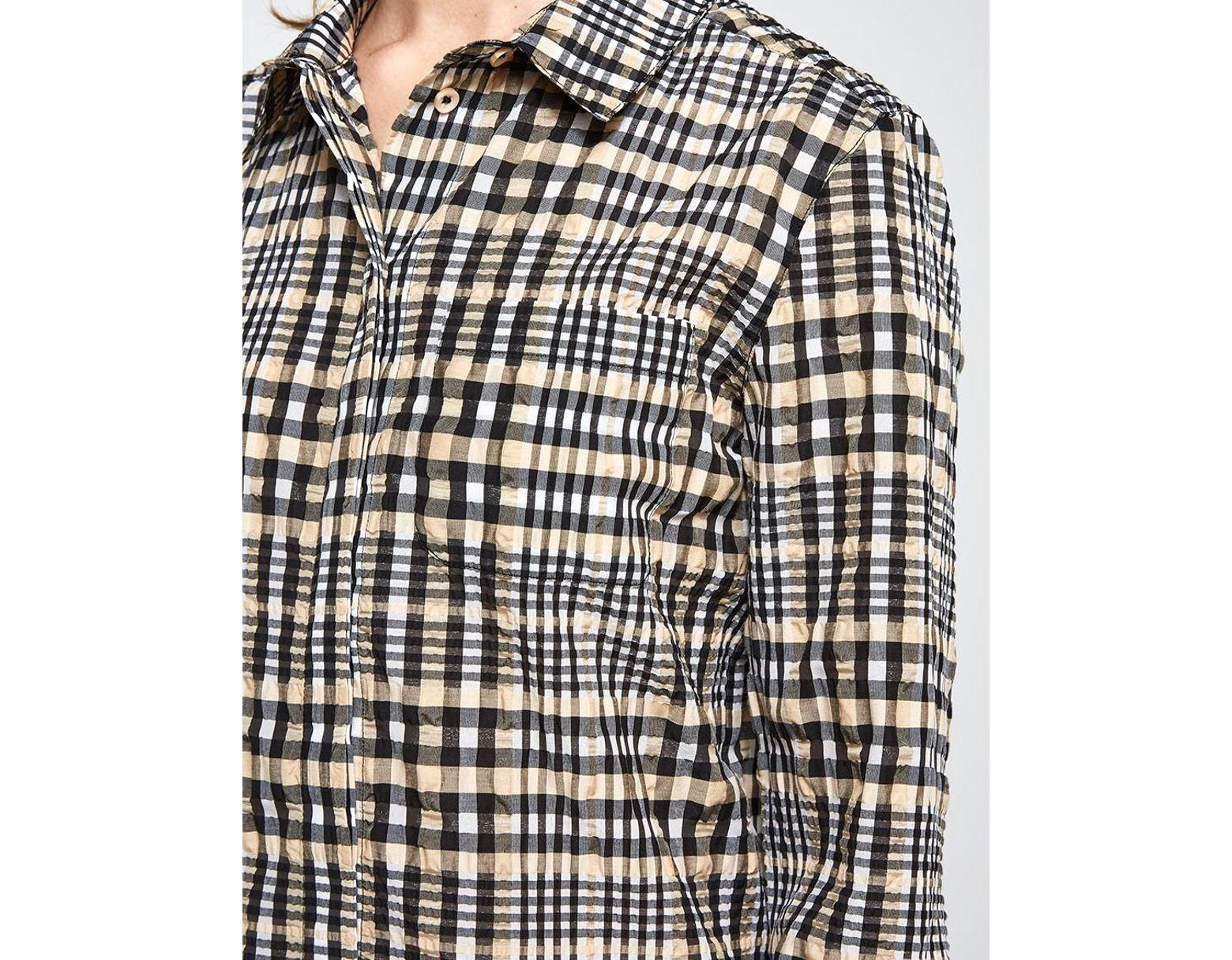 b4b6d7f2 Ganni Charron Shirt Dress - Lyst