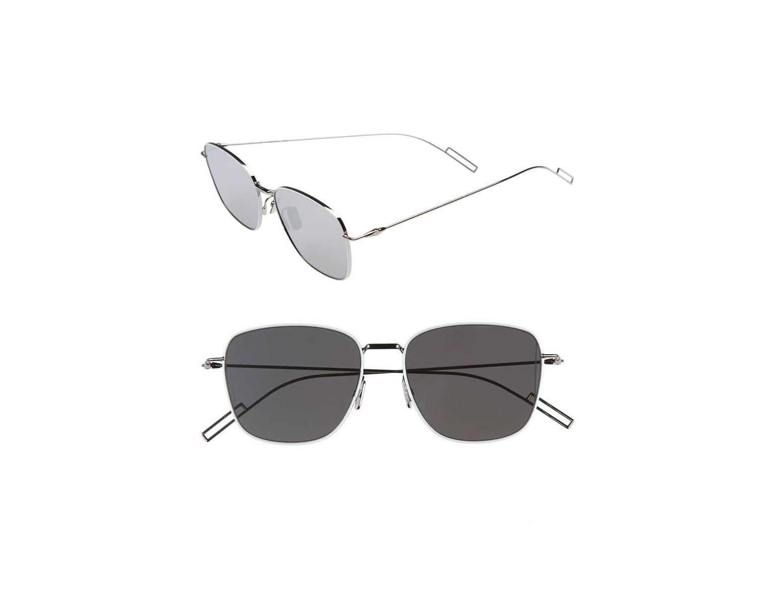 2f930f1d4ee6 Dior 'composit 1.1s' 54mm Metal Sunglasses - Palladium/ Grey Silver Mirror  in Metallic for Men - Lyst
