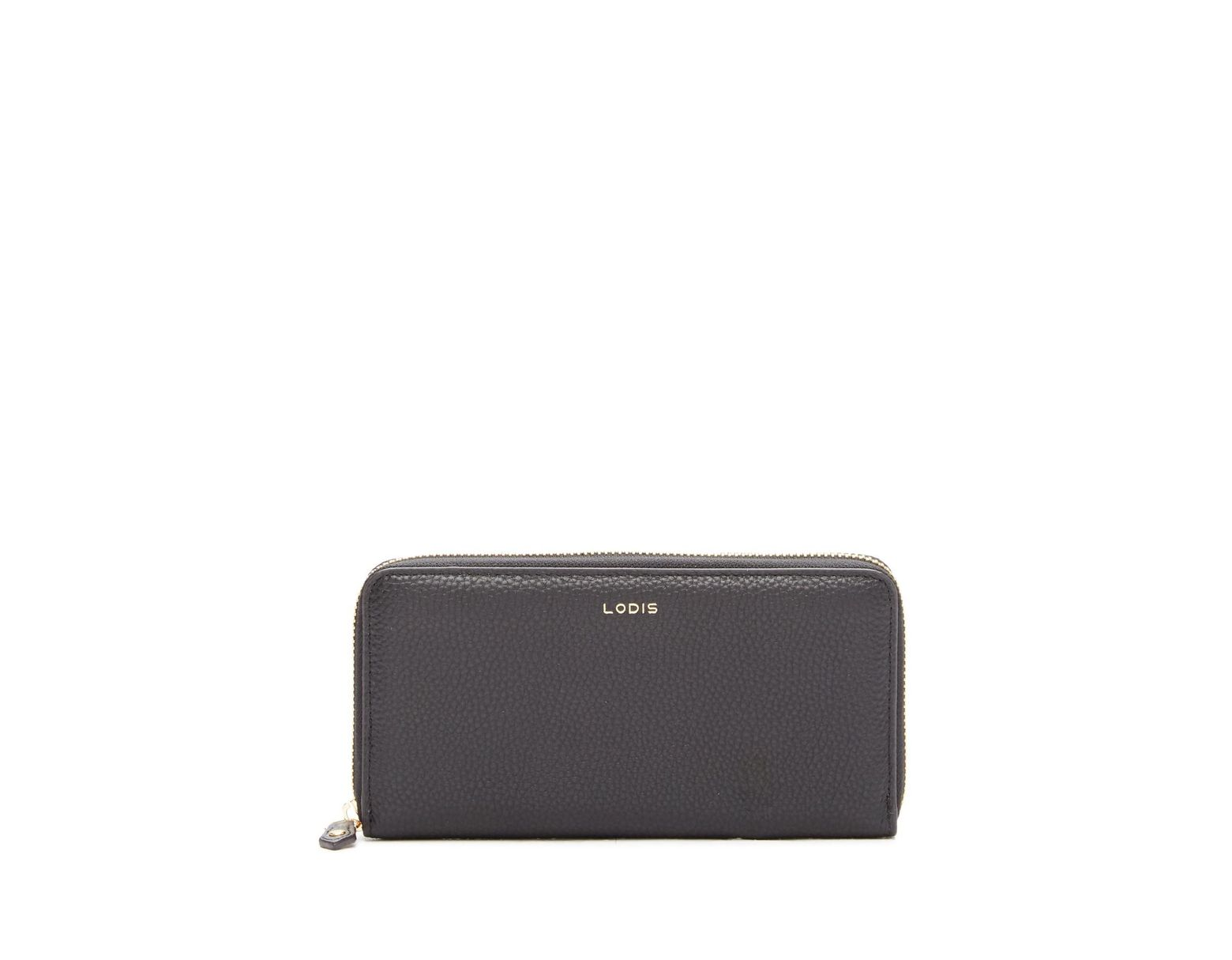 4d5f85001d Lodis Colleen Zip-around Leather Wallet in Black - Lyst