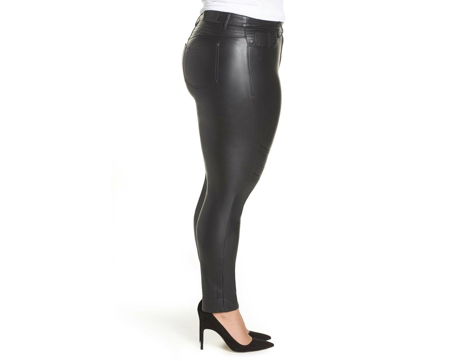 Marina Rinaldi Richi Faux Leather Pants (plus Size) in Black