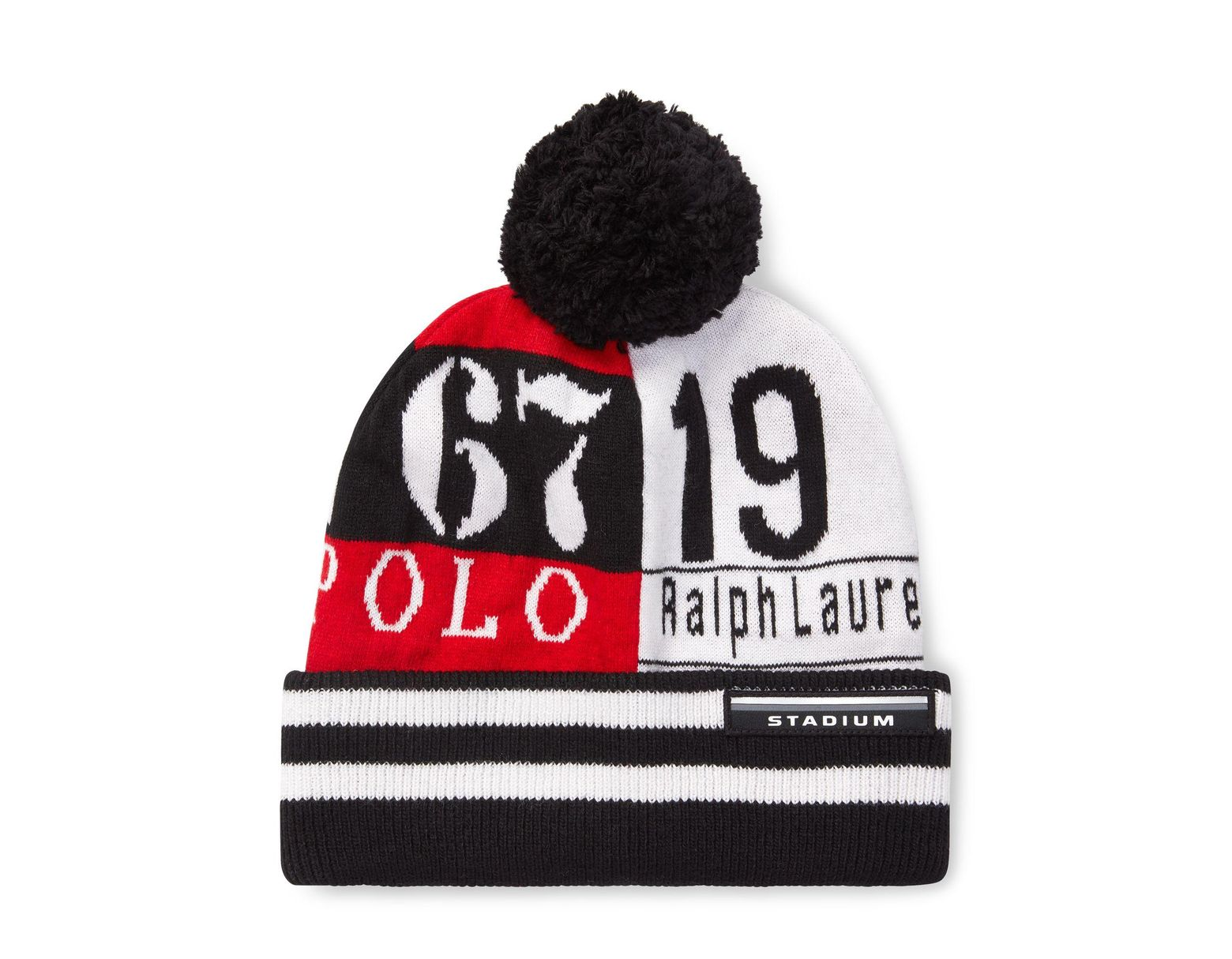 2cfa2ebe18e5c Polo Ralph Lauren Stadium Rl67 Wool-blend Hat in Red for Men - Lyst