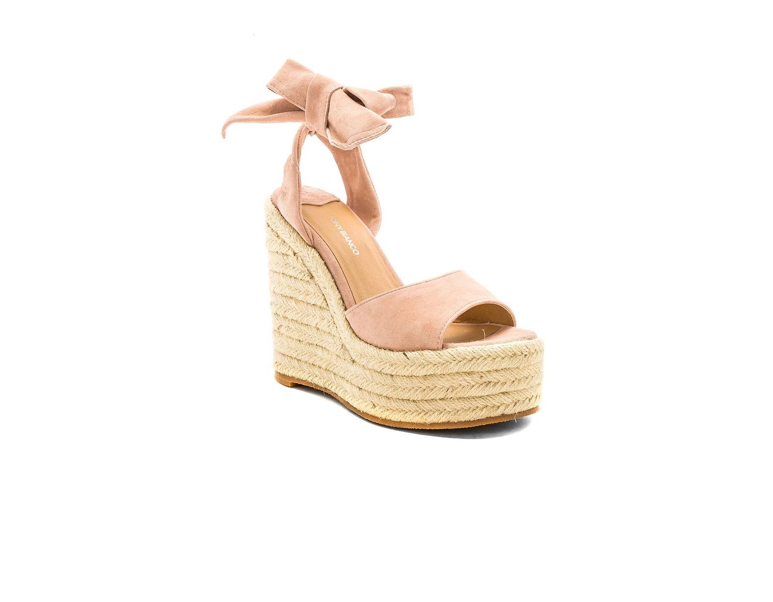 fac7cd7d41d5 Lyst - Tony Bianco Barca Wedge in Natural