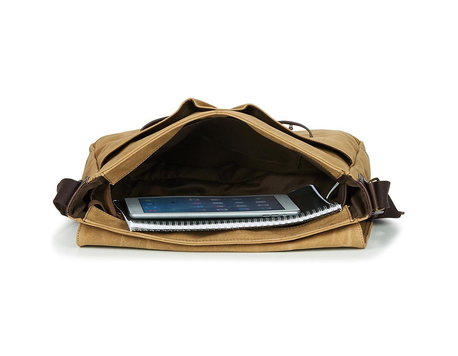6a5ba86ed Casual Attitude Leonadi Messenger Bag in Natural for Men - Save 20% - Lyst