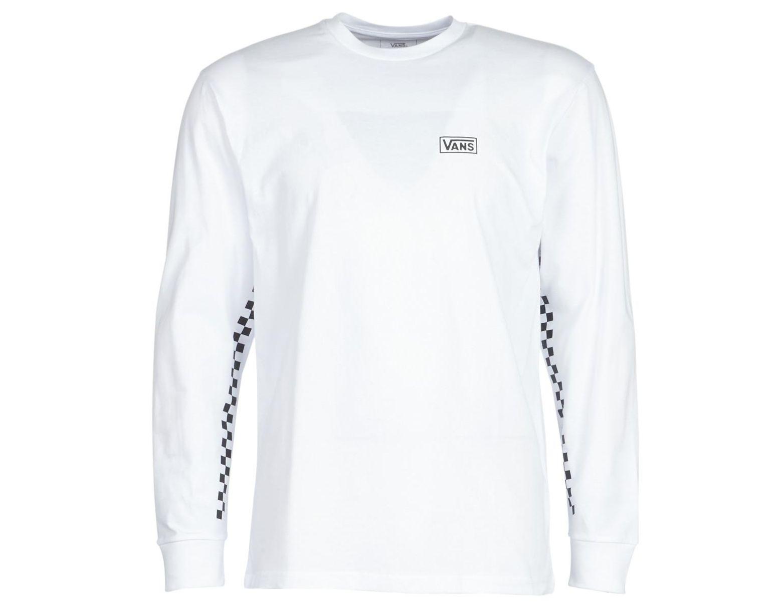 0db47072f95f6 Vans Otw Distort Ls Long Sleeve T-shirt in White for Men - Lyst