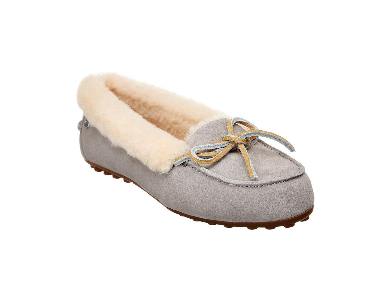 0f3989c2119 Women's Gray Solana Suede Loafer Slipper