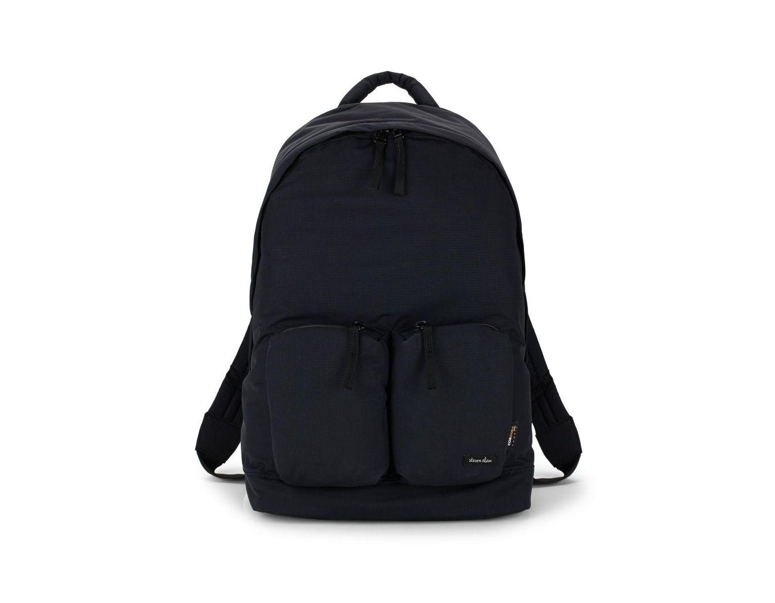 f671b9cd08c7d8 Steven Alan Zippered Backpack in Black for Men - Save 34% - Lyst