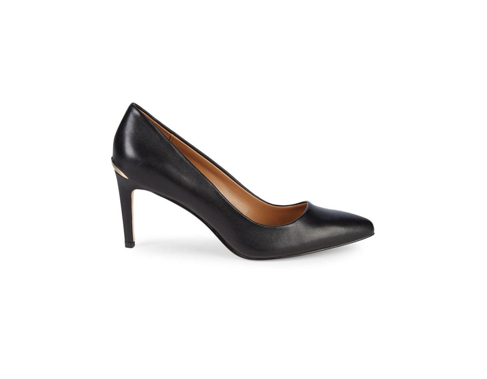 b0a71438e31 Women's Black Kirstin Leather Pumps