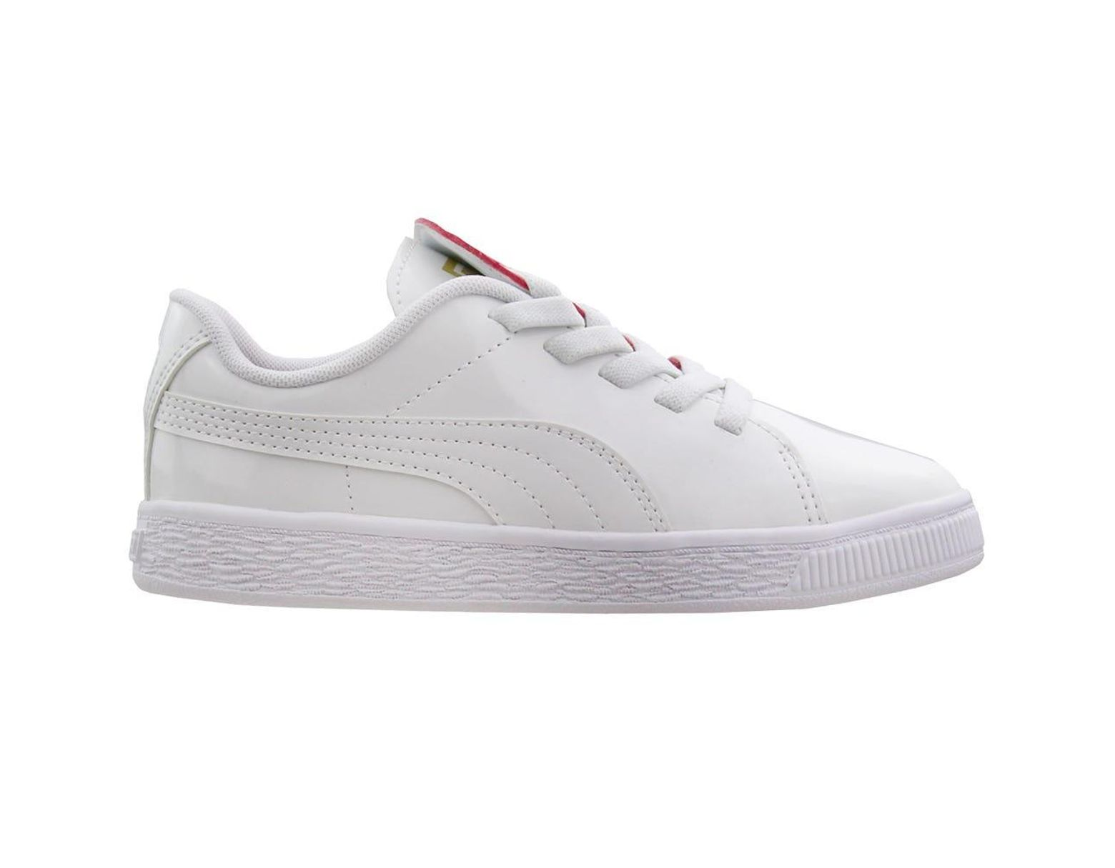 Preschool Patent Crush Women's Basket White Ac 7f6ygbvIY