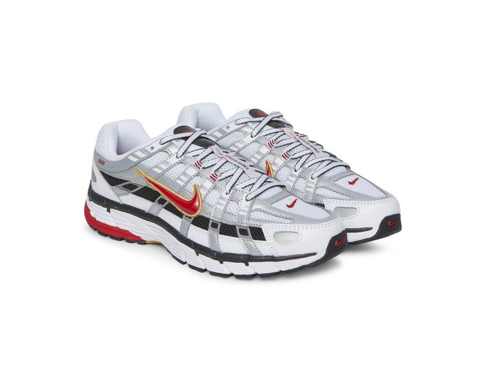 ab0b3dcb4 Nike Wmns Nike P-6000 Sneakers White/red for Men - Lyst