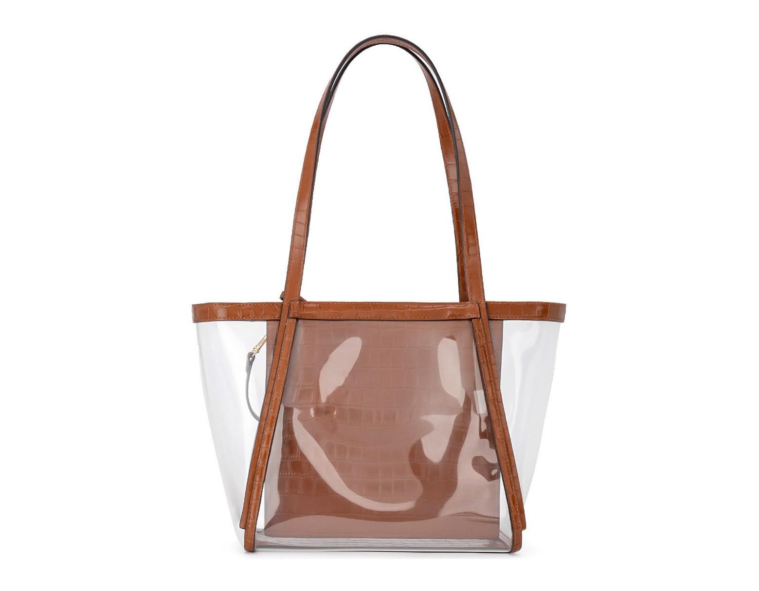 6901aff7ad MICHAEL Michael Kors Borsa A Spalla Whitney In Pvc E Pelle Cuoio Women's  Shoulder Bag In Brown in Brown for Men - Lyst