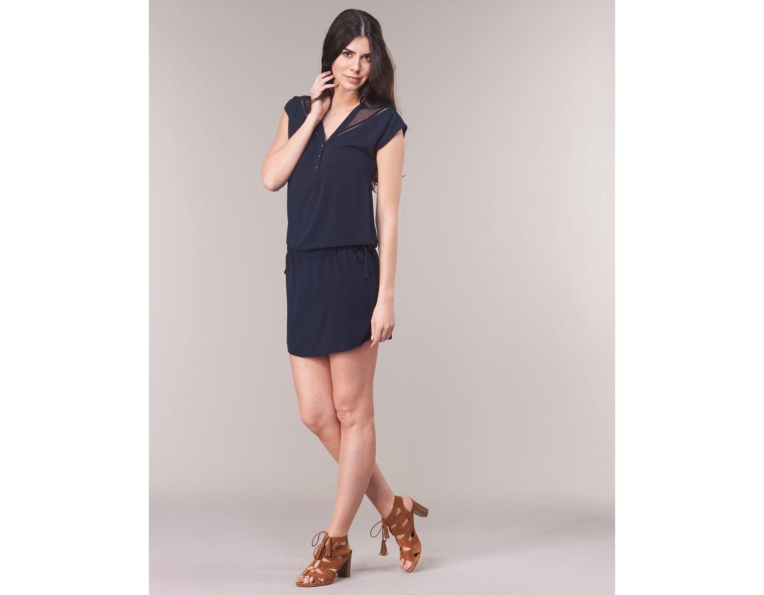 Nznop8kx0w Lyst En 49 Robe Bleu Femmes Ikks Coloris Bn30265 7yYfIvb6gm